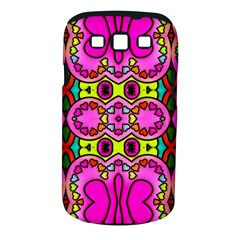 Colourful Abstract Background Design Pattern Samsung Galaxy S Iii Classic Hardshell Case (pc+silicone) by Simbadda