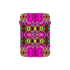 Colourful Abstract Background Design Pattern Apple Ipad Mini Protective Soft Cases by Simbadda