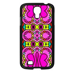 Colourful Abstract Background Design Pattern Samsung Galaxy S4 I9500/ I9505 Case (black) by Simbadda