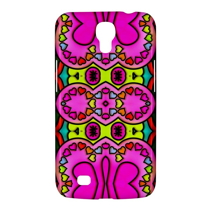 Colourful Abstract Background Design Pattern Samsung Galaxy Mega 6.3  I9200 Hardshell Case