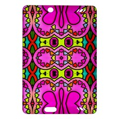 Colourful Abstract Background Design Pattern Amazon Kindle Fire Hd (2013) Hardshell Case by Simbadda