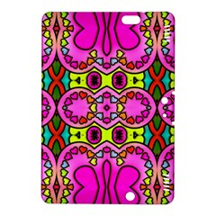 Colourful Abstract Background Design Pattern Kindle Fire Hdx 8 9  Hardshell Case by Simbadda