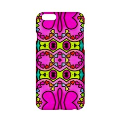 Colourful Abstract Background Design Pattern Apple Iphone 6/6s Hardshell Case by Simbadda