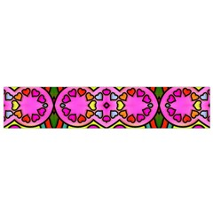 Colourful Abstract Background Design Pattern Flano Scarf (small) by Simbadda