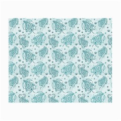 Decorative Floral Paisley Pattern Small Glasses Cloth (2 Side) by TastefulDesigns