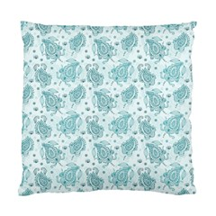 Decorative Floral Paisley Pattern Standard Cushion Case (two Sides) by TastefulDesigns