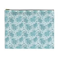 Decorative Floral Paisley Pattern Cosmetic Bag (xl)