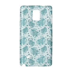 Decorative Floral Paisley Pattern Samsung Galaxy Note 4 Hardshell Case by TastefulDesigns