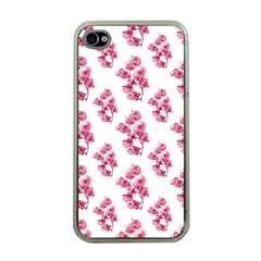 Santa Rita Flowers Pattern Apple Iphone 4 Case (clear) by dflcprints