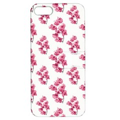 Santa Rita Flowers Pattern Apple Iphone 5 Hardshell Case With Stand by dflcprints