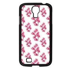 Santa Rita Flowers Pattern Samsung Galaxy S4 I9500/ I9505 Case (black) by dflcprints