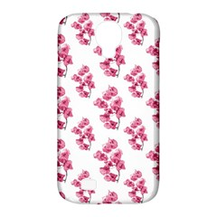 Santa Rita Flowers Pattern Samsung Galaxy S4 Classic Hardshell Case (pc+silicone) by dflcprints