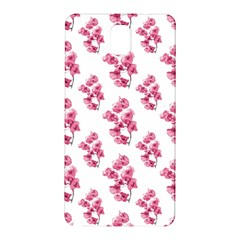 Santa Rita Flowers Pattern Samsung Galaxy Note 3 N9005 Hardshell Back Case by dflcprints