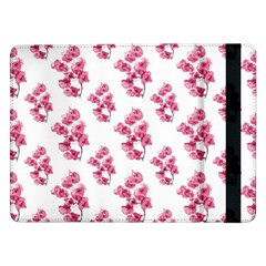 Santa Rita Flowers Pattern Samsung Galaxy Tab Pro 12 2  Flip Case by dflcprints