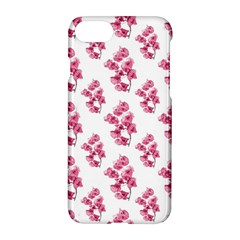Santa Rita Flowers Pattern Apple Iphone 7 Hardshell Case by dflcprints