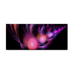 Fractal Image Of Pink Balls Whooshing Into The Distance Cosmetic Storage Cases by Simbadda