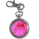 Pink Clouds Key Chain Watch