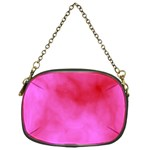 Pink Clouds Chain Purse (One Side)