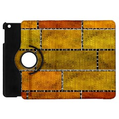 Classic Color Bricks Gradient Wall Apple Ipad Mini Flip 360 Case by Simbadda
