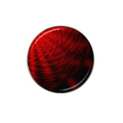 A Large Background With A Burst Design And Lots Of Details Hat Clip Ball Marker by Simbadda