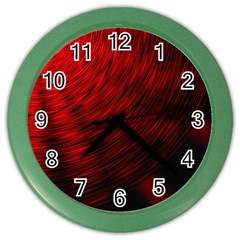 A Large Background With A Burst Design And Lots Of Details Color Wall Clocks by Simbadda