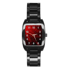 A Large Background With A Burst Design And Lots Of Details Stainless Steel Barrel Watch by Simbadda