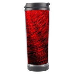 A Large Background With A Burst Design And Lots Of Details Travel Tumbler by Simbadda
