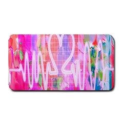 Watercolour Heartbeat Monitor Medium Bar Mats by Simbadda