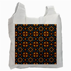 Abstract Daisies Recycle Bag (one Side)