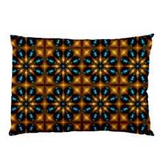 Abstract Daisies Pillow Case (two Sides) by Simbadda