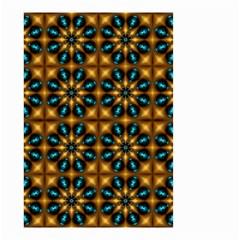 Abstract Daisies Small Garden Flag (two Sides) by Simbadda
