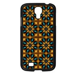 Abstract Daisies Samsung Galaxy S4 I9500/ I9505 Case (black) by Simbadda