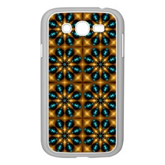 Abstract Daisies Samsung Galaxy Grand DUOS I9082 Case (White) by Simbadda
