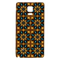 Abstract Daisies Galaxy Note 4 Back Case