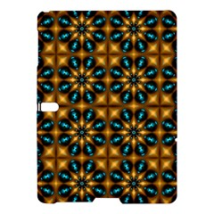 Abstract Daisies Samsung Galaxy Tab S (10 5 ) Hardshell Case  by Simbadda