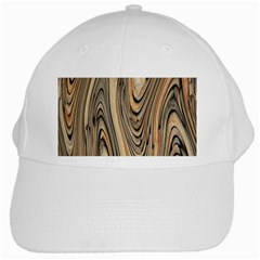 Abstract Background Design White Cap by Simbadda