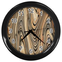 Abstract Background Design Wall Clocks (black) by Simbadda