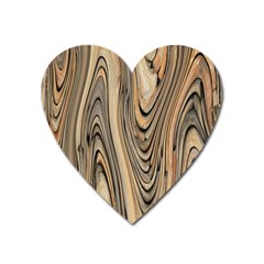Abstract Background Design Heart Magnet by Simbadda