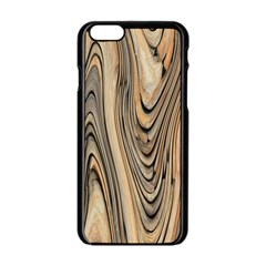 Abstract Background Design Apple Iphone 6/6s Black Enamel Case by Simbadda