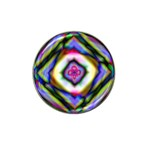 Rippled Geometry  Hat Clip Ball Marker (10 pack)