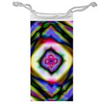 Rippled Geometry  Jewelry Bag