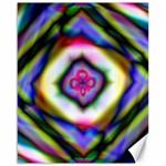Rippled Geometry  Canvas 16  x 20