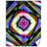 Rippled Geometry  Canvas 18  x 24