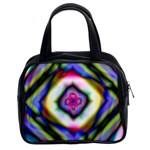 Rippled Geometry  Classic Handbag (Two Sides)