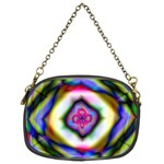 Rippled Geometry  Chain Purse (Two Sides)