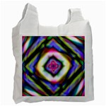 Rippled Geometry  Recycle Bag (One Side)