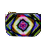 Rippled Geometry  Mini Coin Purse
