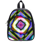 Rippled Geometry  School Bag (Small)