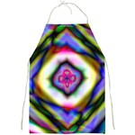 Rippled Geometry  Full Print Apron