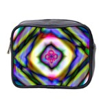 Rippled Geometry  Mini Toiletries Bag (Two Sides)